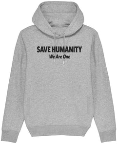 "Sweatshirt à Capuche  ""Save Humanity"""