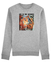 "Charger l'image dans la galerie, Sweatshirt ""Art Is The Antidote"" - Les Demoiselles d'Avignon"