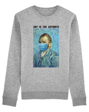 "Charger l'image dans la galerie, Sweatshirt ""Art Is The Antidote"" - Van Gogh"