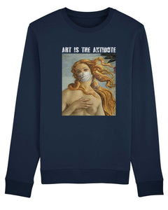 "Sweatshirt ""Art Is The Antidote"" - Venus"