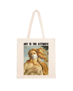 "Totebag ""Art Is The Antidote"" - Venus"