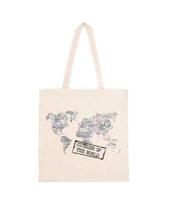 "Totebag ""Citizen of The World"""