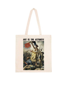 "Totebag ""Art Is The Antidote"" - Lacroix"