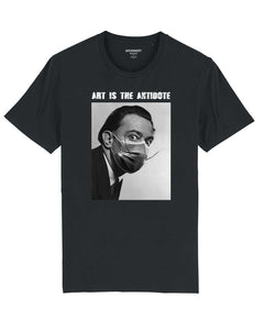 "T-shirt  ""Art Is The Antidote"" - Dalí"