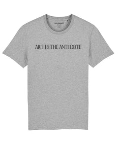 "T-shirt  ""Art Is The Antidote"" - Typo"