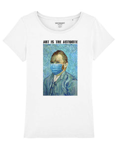 "T-shirt  ""Art Is The Antidote"" - Van Gogh"