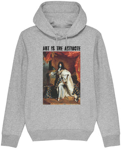 "Sweatshirt à Capuche  ""Art Is The Antidote"" - Louis XIV"