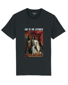 "T-shirt  ""Art Is The Antidote"" - Louis XIV"