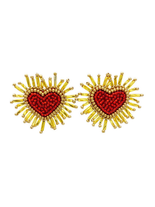 Mini Corazón Earrings