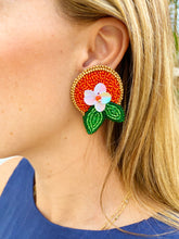 Load image into Gallery viewer, Orange Blossom Earrings