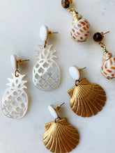 Load image into Gallery viewer, Piña Earrings - Shell