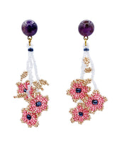 Load image into Gallery viewer, Daisy Earrings - Dusty Pink