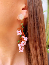 Load image into Gallery viewer, Cherry Blossom Earrings