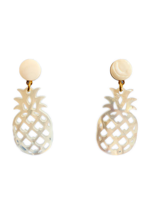 Piña Earrings - Shell