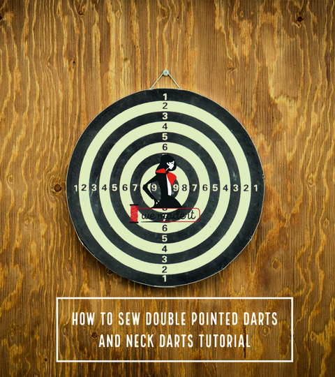 Sewing Darts Isn't Hard With Our Double Pointed Dart & Neck Darts Tutorial