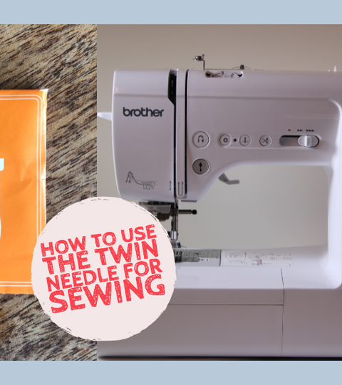 How To Use The Twin Needle For Sewing