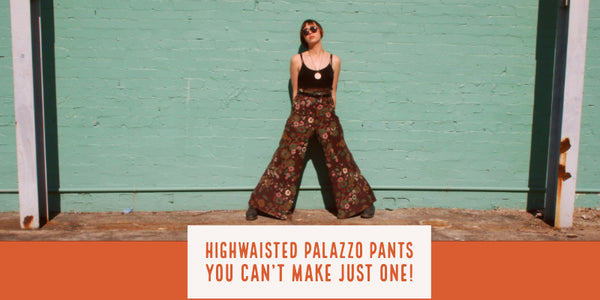 Easy to sew Flare pant