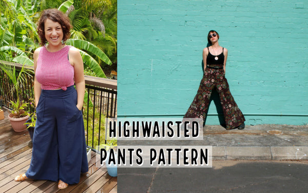 Learn To Sew Flare Pants Pattern