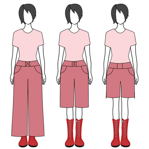 wide leg pants pattern