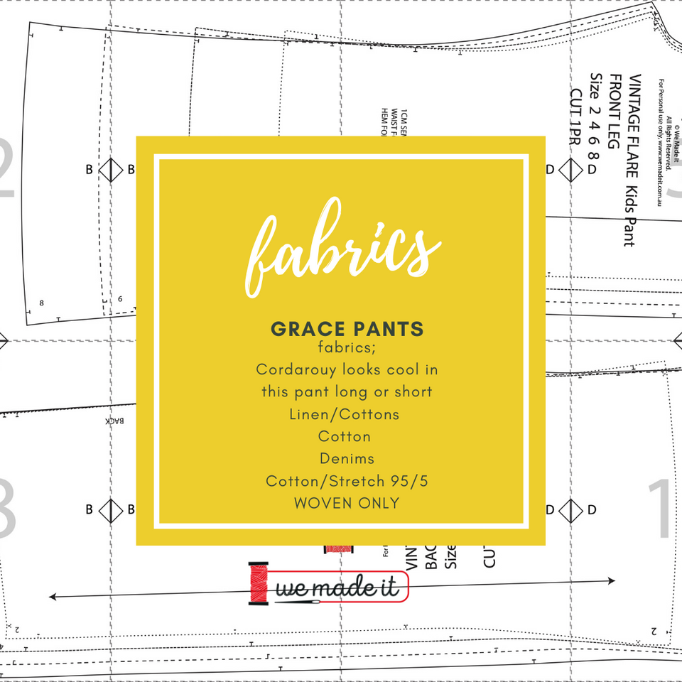 Grace Pants Wide Leg Pants Pattern Plus size Included