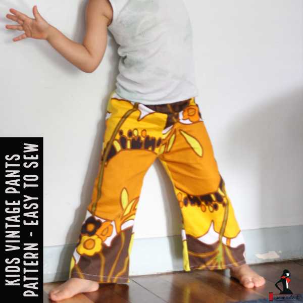 kids vintage pants pattern online
