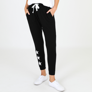 Star Jogger Pants (Black)