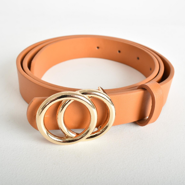 Double Ring Belt (Tan)