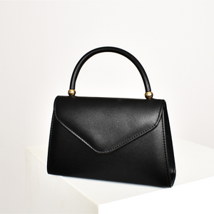 Fold Over Mini Bag (Black)