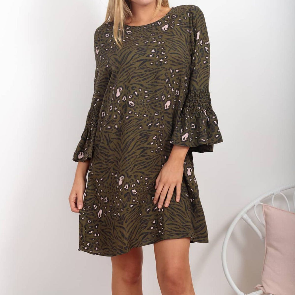 Danika Leopard Print Dress
