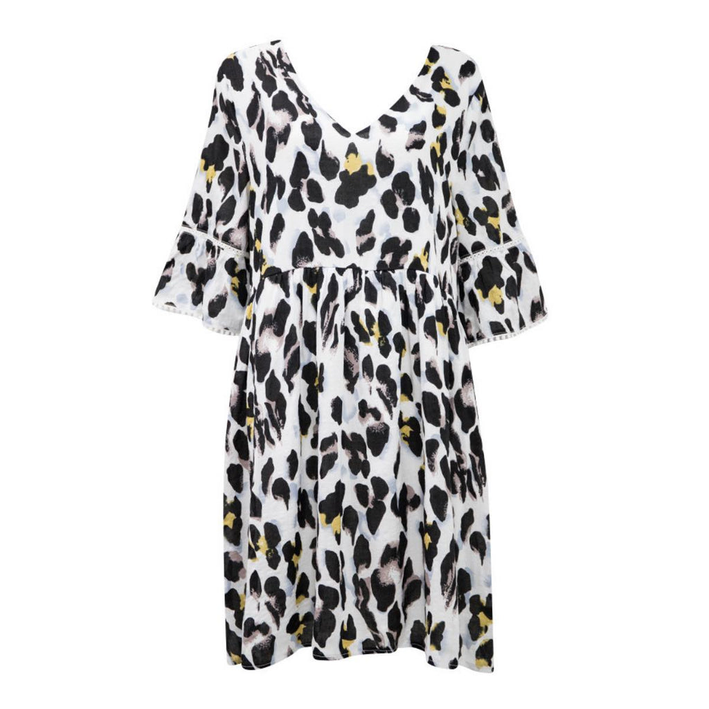 Maybell Leopard Print Dress