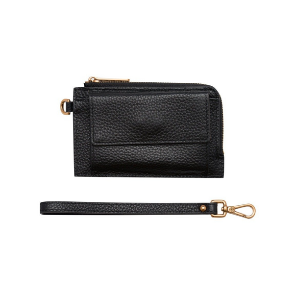 Bon Maxie Mighty Mini Leather Wallet (Black)
