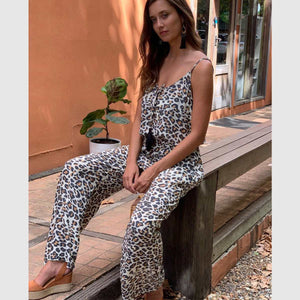 Coco Animal Print Jumpsuit