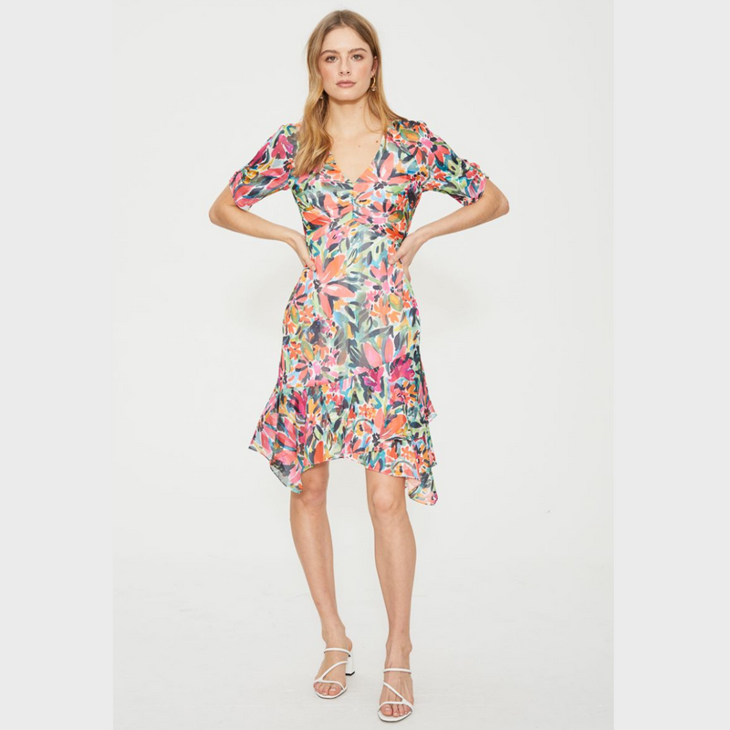 Cooper St Spirited Ruffle Hem Dress