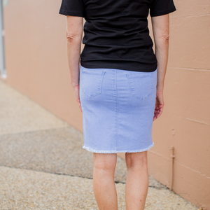 Assembly Denim Skirt (Light Wash)