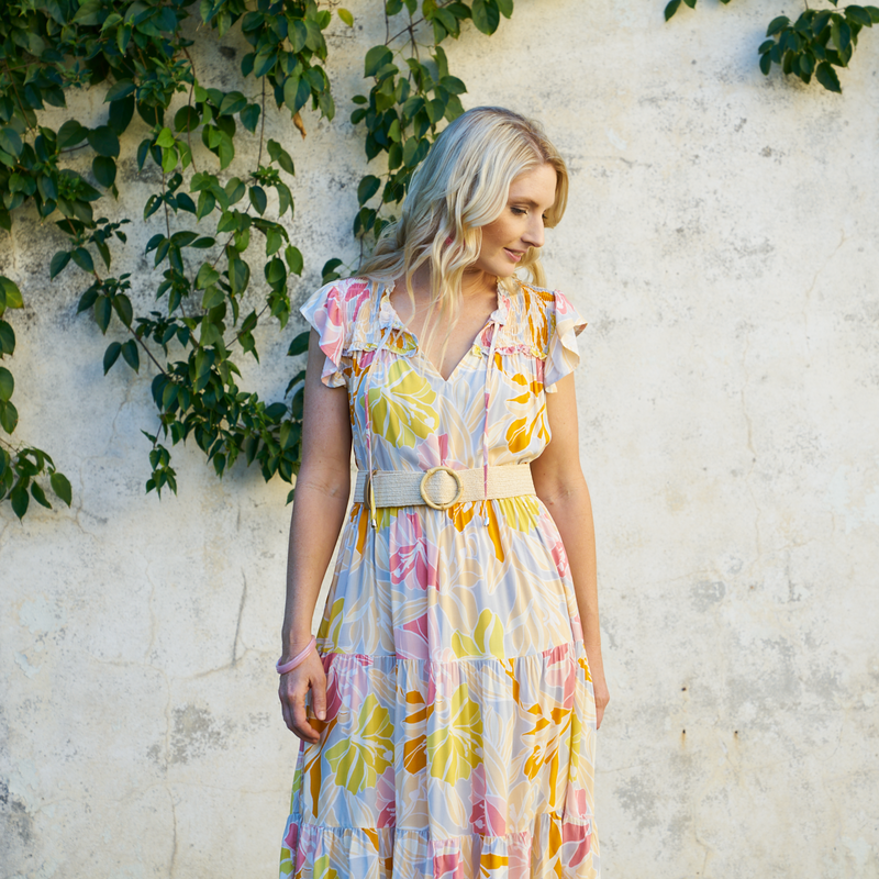 Sweet Pea Floral Dress