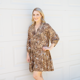 Zuri Animal Print Dress