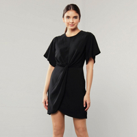 Shilla Enchant Knot Dress (Black)