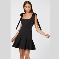 Elliatt Lucky Dress (Black)