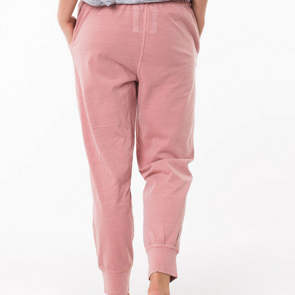 Elm Wash Out Pants (Pink)