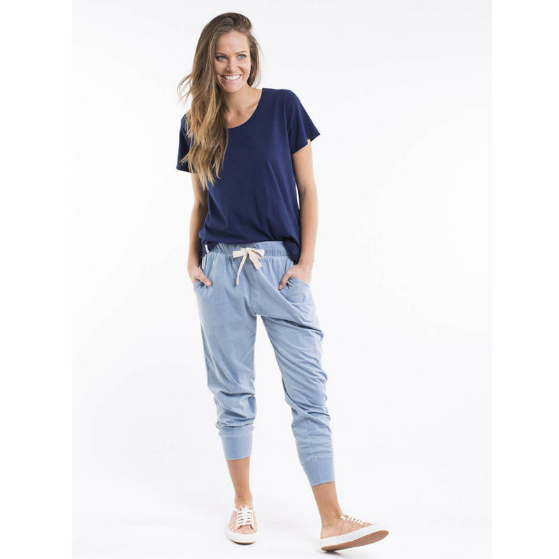 Elm Wash Out Pants (Blue)