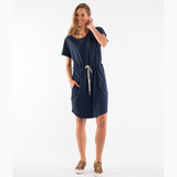 Elm Fundamental Harper Dress (Navy)