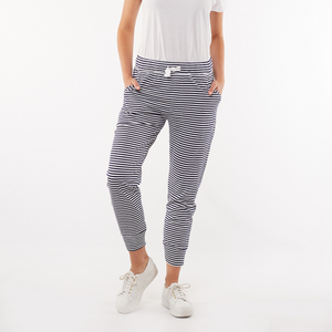 Elm Molly Wash Out Pants (Stripe)