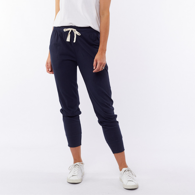 Elm Wash Out Pants (Navy)