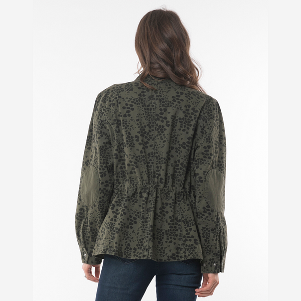 Elm Wild At Heart Jacket (Khaki)