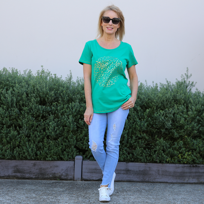 Elm Moonshine Tee (Green)
