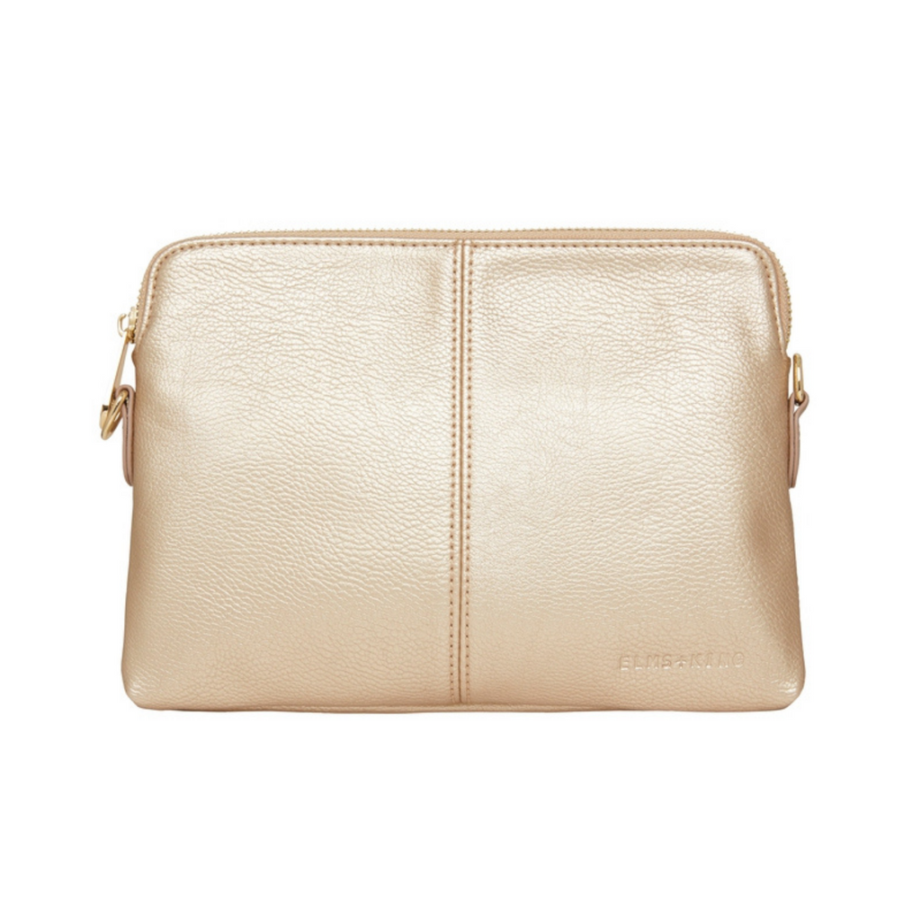Elms & King Bowery Wallet (Light Gold)
