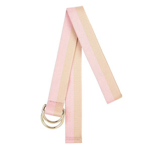 Elms & King Cotton Belt (Pink/Natural)