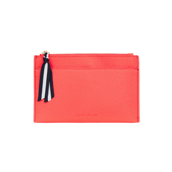 Elms & King New York Coin Purse (Camellia Red)