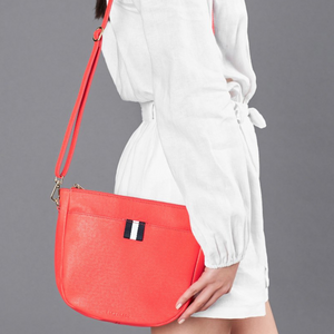 Elms & King New York Shoulder Bag (Camellia Red)