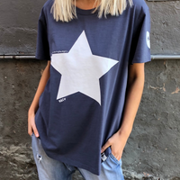 Hammill & Co 73 Vintage Star Tee (Navy)